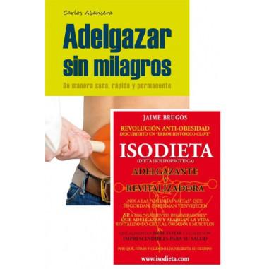 Pack Libros Adelgazar sin Milagros + Isodieta