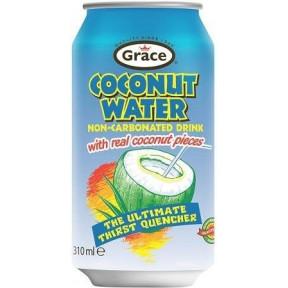 Água de Coco com pedaços de coco reais 310 ml
