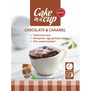 Cake in a Cup Chocolate & Caramel Sukrin 75 g