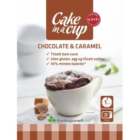 Bizcocho en Taza Chocolate & Caramelo Sukrin 75 g