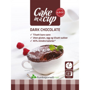Cake in a Cup Dark Chocolate Sukrin 75 g