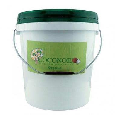 9,2 Kg. Aceite de Coco Virgen Ecológico Coconoil Organic Cubo