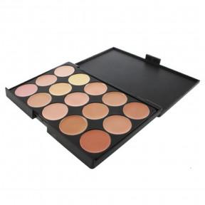 Paleta 15 Colores Neutros de Maquillaje Corrector