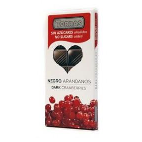 Chocolate Preto com Arandos Sugar Free Torras 150 g