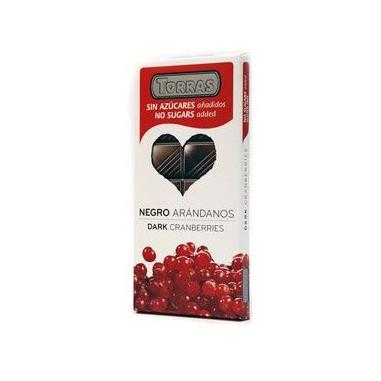 Chocolate Preto com Amêndoas Inteiras Sugar Free Torras 150g