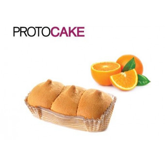 Bizcocho CiaoCarb Protocake Fase 1 Naranja