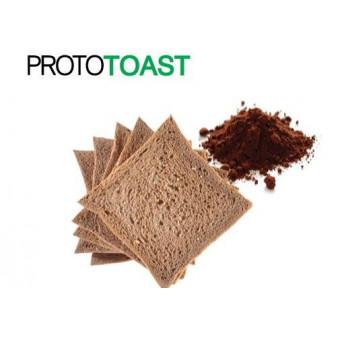 Pan Tostado CiaoCarb Prototoast Fase 2 Cacao