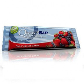 Quest Bar Protein Sabor Frutos Rojos