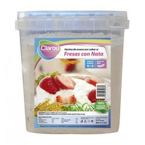 Oatmeal CLAROU with Strawberries and Cream Flavor 2 kg