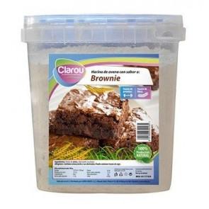 Harina de Avena CLAROU Sabor Brownie 2 kg
