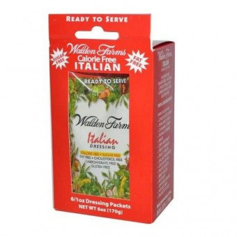 Walden Farms Italian Dressing, 6 saquetas de 28 g