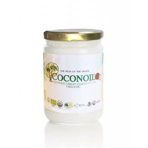 500 ml Aceite de Coco Virgen Ecológico Coconoil Organic Envase Cristal 460 g