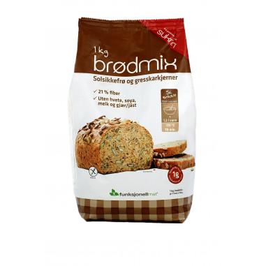 Preparado para Elaborar Pan de Semillas Sukrin 1 kg Proteinbrød
