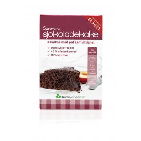 Preparado Para Elaborar Bizcocho de Chocolate Sukrin 410 g