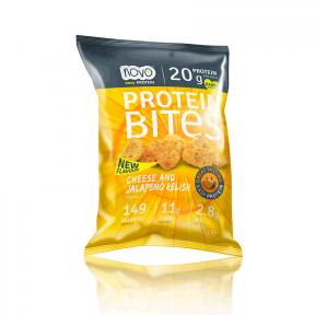 Protein Bites - Picadas Chips de Proteína Queijo e Jalapeño 40g