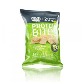 Protein Bites Bocaditos Chips Cebolla y Crema Agria 40 g