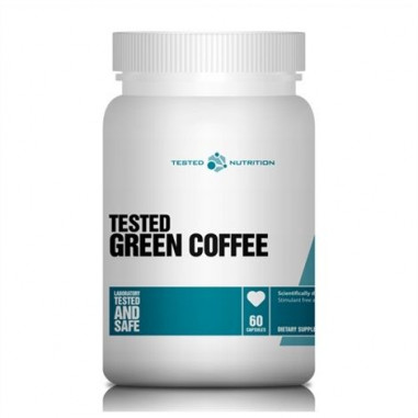 Tested Nutrition Cápsulas de Café Verde