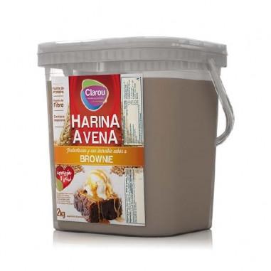 Farinha de Aveia Sabor Biscoitos de Chocolate e Creme de Baunilha, 2 kg