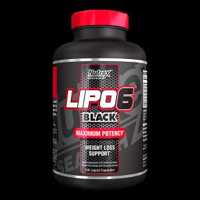 Lipo 6 Black 120 cápsulas para perda de peso