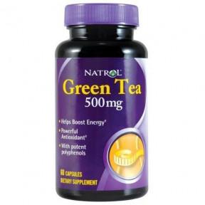 Cápsulas de Chá Verde Natrol 500 mg 60 Cápsulas