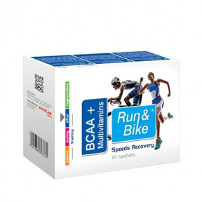 Complexo de recuperação BCAA + Multivitaminas Run & Bike