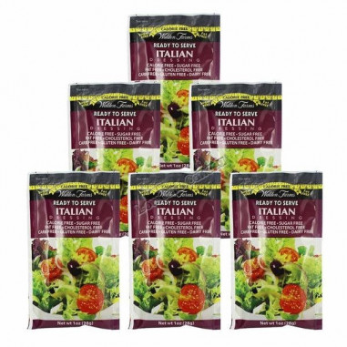 Walden Farms Italian Dressing, Sobre Individual de 28 g