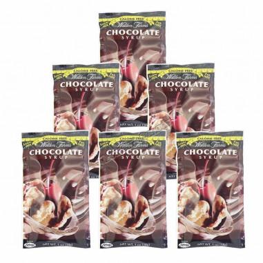 Sirope de Chocolate Walden Farms sobre individual de 60ml