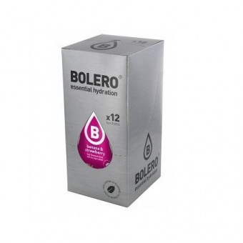 Pack de 12 Bolero Drinks Banana e Morango