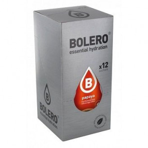 Pack 12 Sobres Bolero Drinks Sabor Papaya