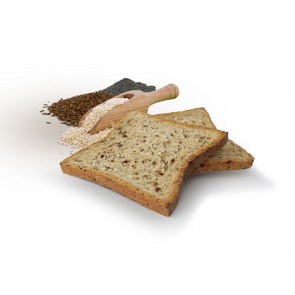 CiaoCarb Prototoast Stage 1 Crispy Seeds Bread 200 g