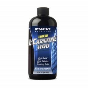 Líquido L-Carnitine 1100 Dymatize Aroma de Framboesa, 473 ml