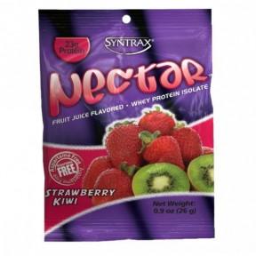 Syntrax Nectar Grab N'Go Whey Protein Isolate Morango Kiwi 27 g