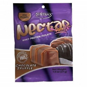 Syntrax Nectar Sweets Grab N'Go Whey Protein Isolate Trufa de Chocolate 27 g