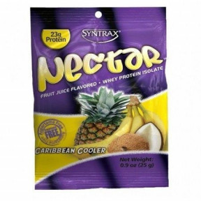 Syntrax Nectar Grab N'Go Whey Protein Isolate Sabor Tropical 27 g