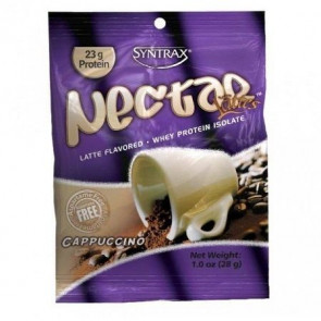 Syntrax Nectar Grab N'Go Whey Protein Isolate Sabor Capuccino 28 g