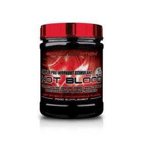 Hot Blood 3.0 pré-treino sabor Estimulante Complexo Laranja de Sangue Scitec Nutrition 300 g