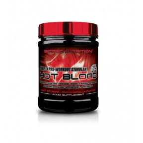 Hot Blood 3.0 Pre-Workout Stimulant Complex Guarana Scitec Nutrition 300  g