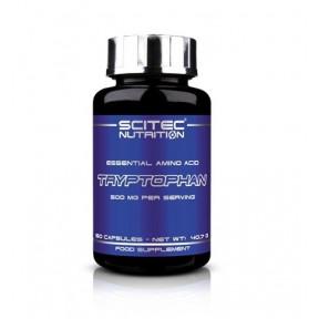 Tryptophan Scitec Nutrition Triptófano Aminoácido esencial 60 Cápsulas