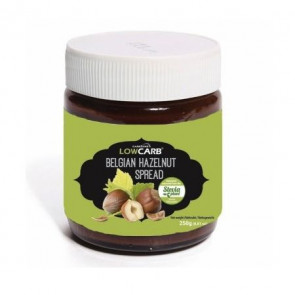 Crema de Avellanas Belga LowCarb - CarbZone, 250 g