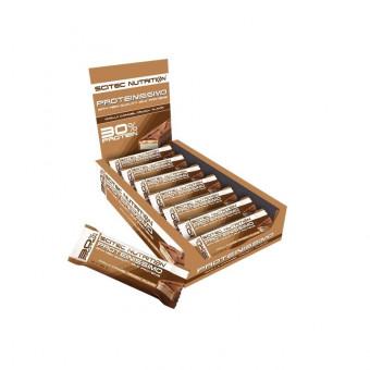 Barrita Low-Carb Proteinissimo Chocolate-Café de Scitec Nutrition
