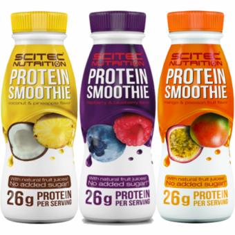 Shake de proteínaFramboesa e Mirtilo de Scitec Nutrition