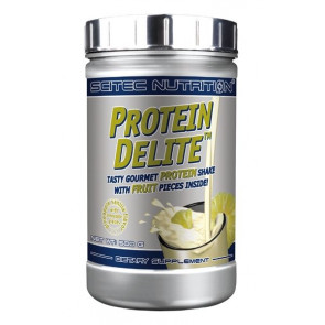 Pineapple Vanilla Protein Delite Protein Shake with chocolate pieces Scitec Nutrition