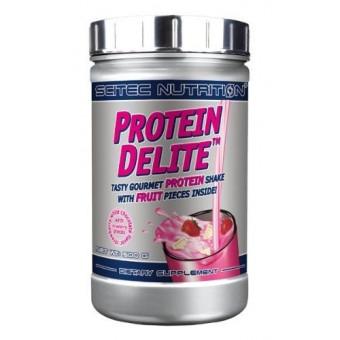 Batido de Proteínas Protein Delite con tropezones sabor Fresa y Chocolate Blanco de Scitec Nutrition