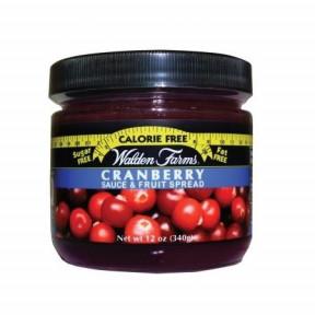 Walden Farms Cranberry Fruit Spread Mermelada de Arándanos Agrios 340 g