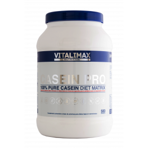 Casein Pro 100% Proteína de Caseinato Cálcico 500 g Vitalimax Nutrition