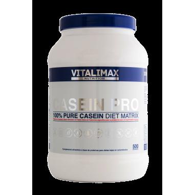 Casein Pro 100% Proteína de Caseinato Cálcico 500 g
