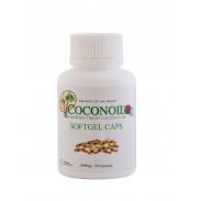 Oleo de Coco Virgem Soft Gel Caps Coconoil 1000 mg 90 cápsulas