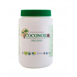 1 L Óleo de Coco Virgem Orgânico Coconoil Organic (920 g)