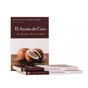 El Aceite de Coco, El Elixir de la Vida libro de Carlos Abehsera sobre los más de 300 usos y beneficios del Aceite de coco
