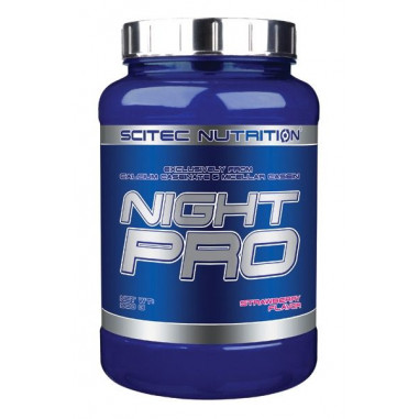 Scitec Nutrition Night Pro Fresa 900g